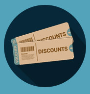 discounts and vouchers