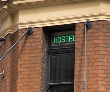 hostels and backpackers